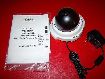 Axis 216fd Network Ip Poe Security Surveillance Web Camera 0240-001-02
