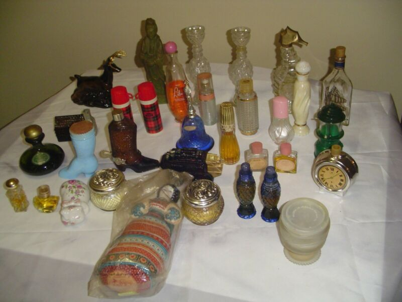 Vintage Avon bottles and more lot