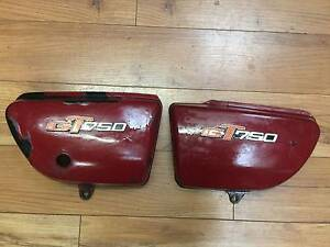 SUZUKI GT 750 WATER BOTTLE SIDE COVERS 1972 St Agnes Tea Tree Gully Area Preview
