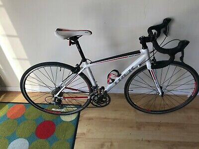 Trek Series One 1.1 Road Bike - 47cm frame - White with black and red styling