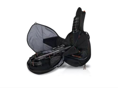 NEW EASTON DELUXE 4126 CROSSBOW CASE. BLACK FITS MOST CROSSB