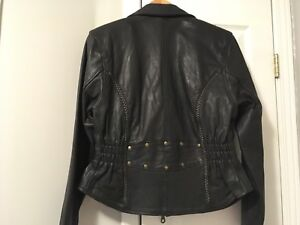 Ladies Leather Jacket