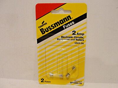 Cooper Bussman Bpgma-2a 2 Amp Electrical Circuits Equipment Testers