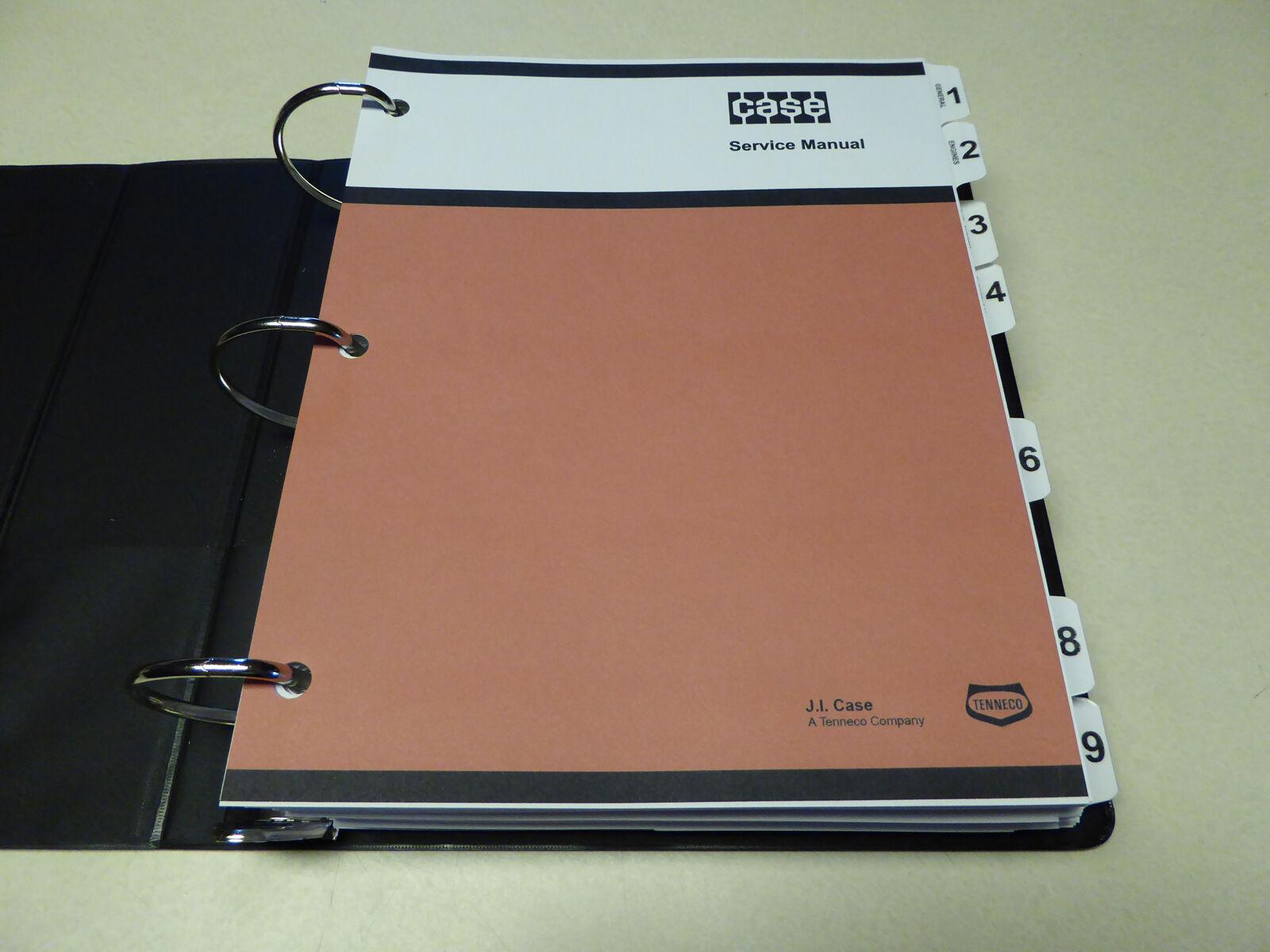 2 of 12 Case 1845C Uni-Loader Skid Steer Service Manual Repair Shop Book  NEW w/Binder 3 of 12 Case ...