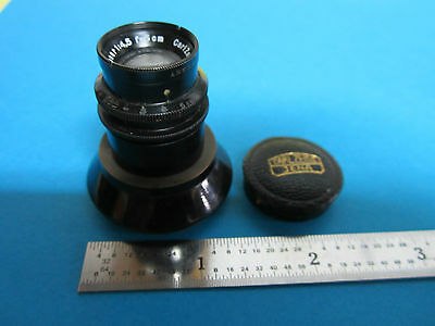 Rare Microscope Objective Lens Carl Zeiss Jena Germany Planar 4.5x 5 Cm Optics
