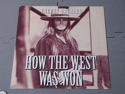 """Energy Orchard:   How the west was won   7""""   Near Mint ex shop stock"""