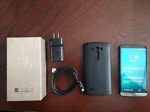 LG G3 with box, case and original charger