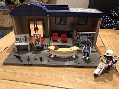 playmobil police station, Police Bike, Jail Break