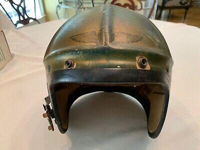 H 4 Navy Flight Helmet Korean War Era Large Size