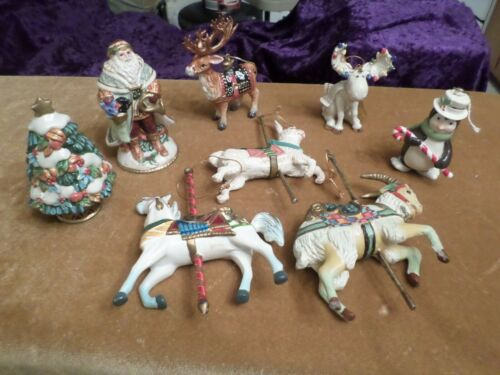 Fabulous Lot Lenox, Fitz & Floyd, Vintage  Animals Ornaments & Salt/Pep