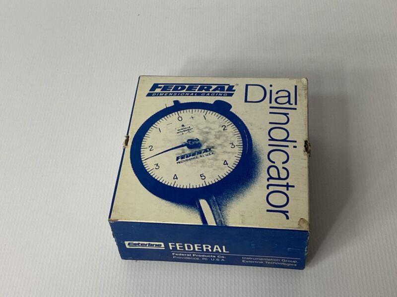 NOS Federal Dimensional Gaging Dial Indicator 0.0001 Increments Model 951