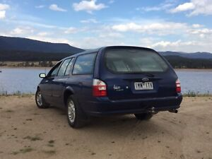 2000 Ford Falcon Forte 4 Sp Automatic 4d Wagon