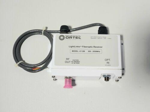 Ortel 4112M LightLinks Fiberoptic Converter Rx L-Band 950-2050MHz Flanged Mount