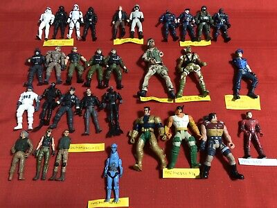 Star Wars Soldiers Army Police G.I.Joe Figures Lot Of 31