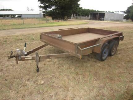 tandem car trailer 10 x 6 for sale Hawkesdale Moyne Area Preview