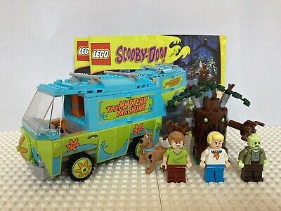 LEGO 100% Complete 75902 Scooby-Doo The Mystery Machine Complete with Manuals WB