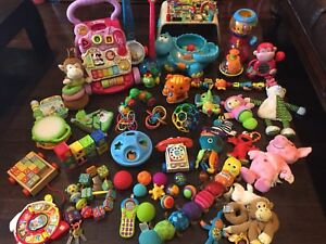 Huge baby toddler toy lot