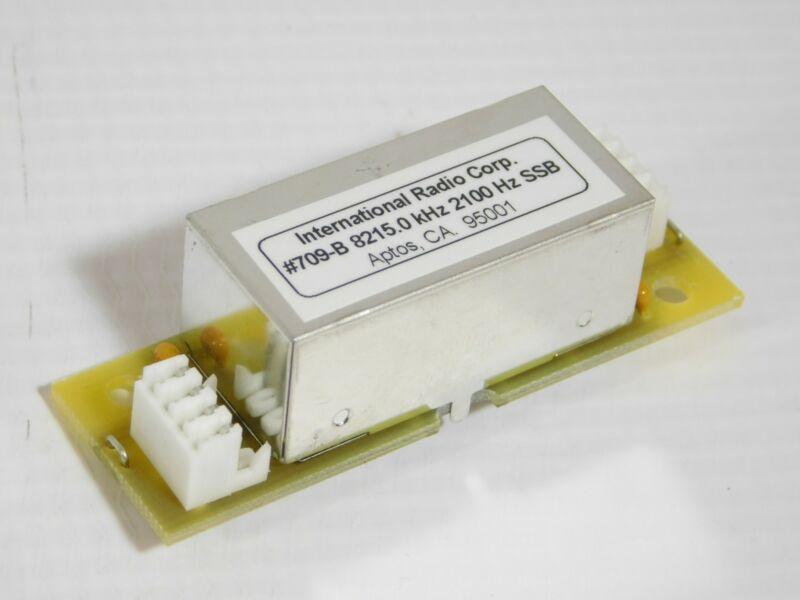 Inrad 709 8215.0kHz 2100Hz SSB Mechanical Filter for Yaesu FT-1000MP (tested)