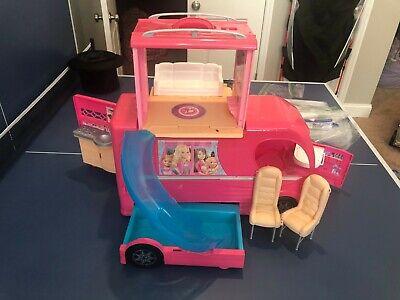 2014 Barbie Dream Camper Van RV Motor Home with Swimming Pool
