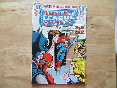 1974 VINTAGE DC JUSTICE LEAGUE OF AMERICA #109 SIGNED BY DICK GIORDANO , WITHPOA