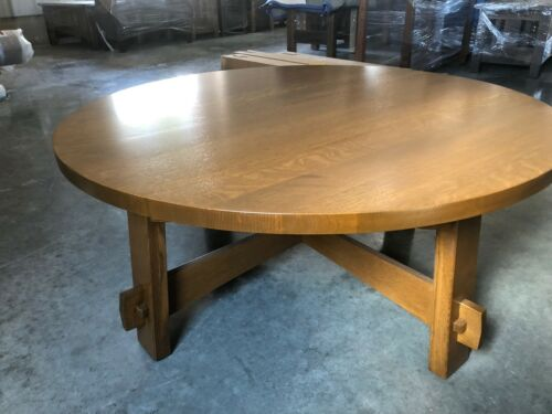 Custom Built   New   Mission Arts And Crafts   Stickley Style   Coffee Table