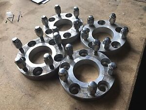 5x120 to 5x127 wheel adapters Box Hill South Whitehorse Area Preview