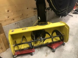 "44"" John Deere Snowblower + Weights"