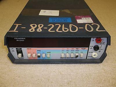 Heathkit Im-2260 Test Meter Vintage Digital Multimeter Free Shipping