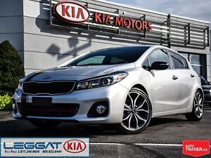 2018 Kia Forte5 SX - Very Low KMs, Sunroof, Leather, Navi