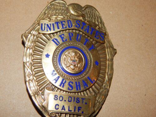 ANTIQUE CALIFORNIA DEPUTY US MARSHAL S/CA USMS POLICE   HMK  LAS&S CO