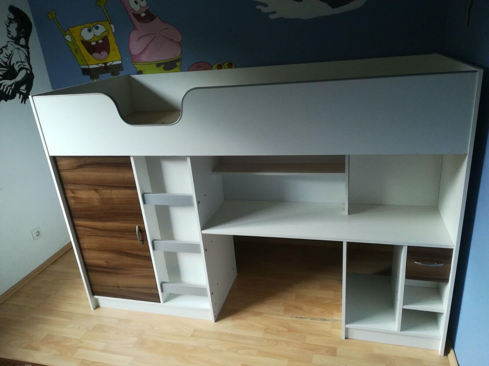 Kinder Halbhoch system Bett von Otto 110 €