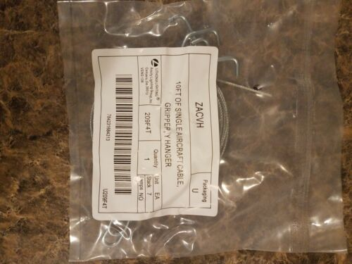 LITHONIA LIGHTING Steel Aircraft Cable Hanging Kit, ZACVH 10