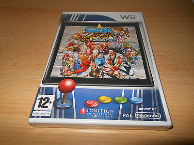 SNK Arcade Classics: 16 in 1 -Volume 1 (Nintendo Wii, 2008) brand NEW SEALED