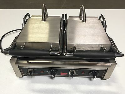 Cecilware Sg2lf Panini Sandwich Grill Double Flat Surface