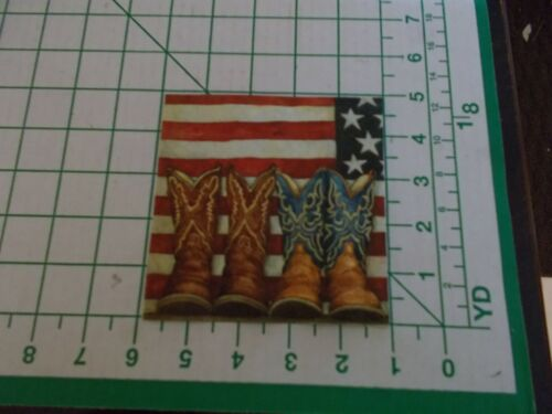 """Two Decorative Cocktail Napkins for Decoupage """"Old Glory"""""""