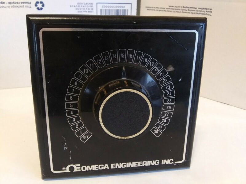 Omega Engineering OSW5-30 Rotary Thermocouple Selector Switch