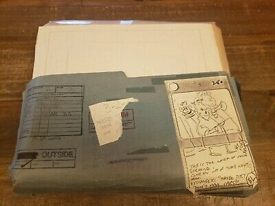 Lot of 406 Original Drawings + Painted Cels Nelvana Intergalactic Thanksgiving