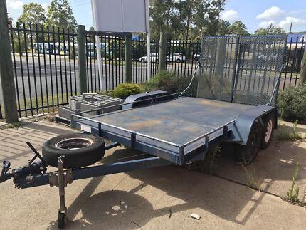 2015  Model 361907A 12Ft  ELF Car Trailer! $3500
