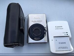 Canon PowerShot SD 770 IS digital