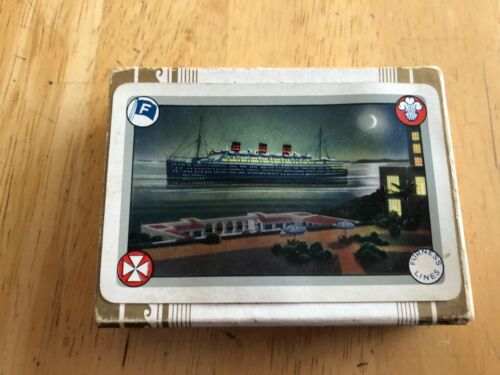 FURNESS LINES Passenger Steamship Shipping Advertising Art Ship Sealed deck