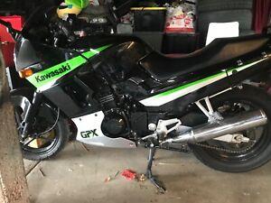 2008 Kawasaki GPX 250 road bike