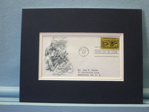 The National Apprentice Program & First Day Cover for 25th Anniversary stamp