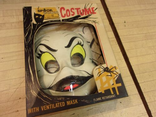 Vintage Ghost Boo Halloween Costume w/box - Ben Cooper