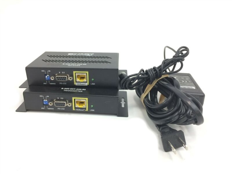 Binary B-500-EXT-230-RS HDBaseT Extender Transmitter and Receiver
