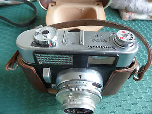 VINTAGE VOIGTLANDER VITO CD 35MM CAMERA & CASE