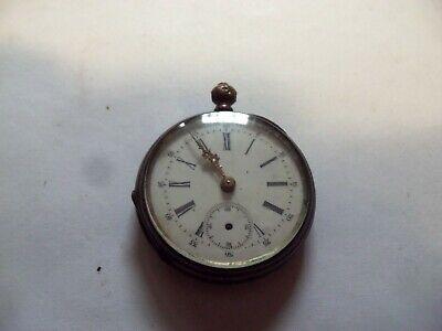 Antique Key-Wind Key-Set 6 Size Open Face Pocket Watch