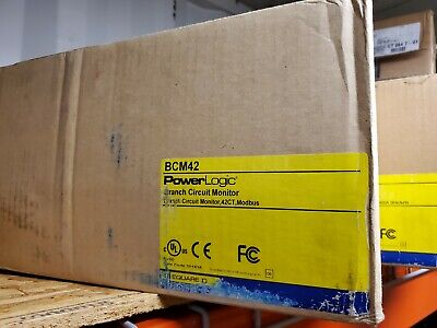 Square D Bcm42 Power Logic Branch Monitor Circuit Breaker Warranty New