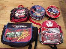 Boys Backpacks/School Bags & Cooler Lunch Bags x 5 Latrobe Latrobe Area Preview