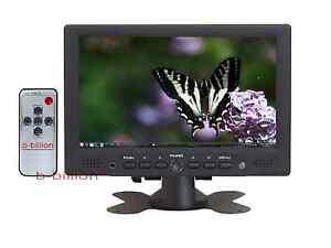 7-pulgadas-Vigilancia-HD-1080p-HDMI-PC-Display-RCA-Video-AV-VGA-TFT-LED-Monitor