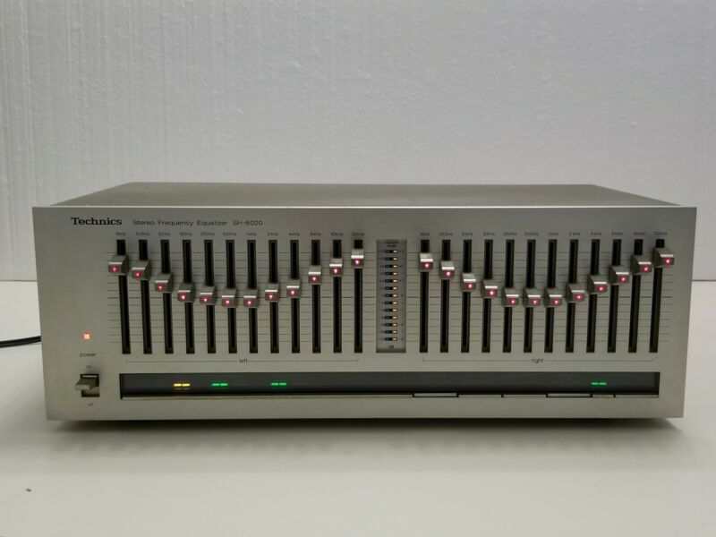 Technics SH-8020 Stereo Graphic Equalizer Vintage 1980